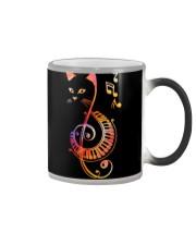 CAT PIANO MUSIC NOTE Color Changing Mug thumbnail