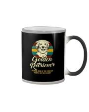 official dog golden retriever Color Changing Mug thumbnail