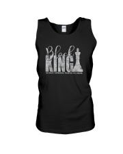 BLACK KING THE MOST IMPORTANT PIECE ON BOARD a Unisex Tank thumbnail