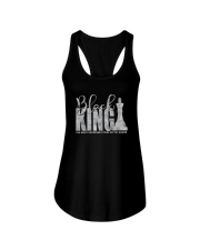 BLACK KING THE MOST IMPORTANT PIECE ON BOARD a Ladies Flowy Tank thumbnail