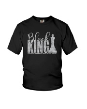 BLACK KING THE MOST IMPORTANT PIECE ON BOARD a Youth T-Shirt thumbnail