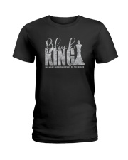 BLACK KING THE MOST IMPORTANT PIECE ON BOARD a Ladies T-Shirt thumbnail