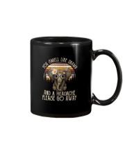 YOU SMELL LIKE DRAMA ELEPHANT Mug thumbnail