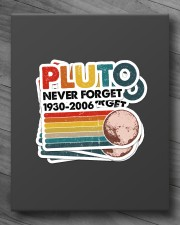 PLUTO NEVER FORGET Sticker - 4 pack (Vertical) aos-sticker-4-pack-vertical-lifestyle-front-10
