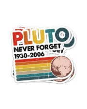 PLUTO NEVER FORGET Sticker - 4 pack (Vertical) front