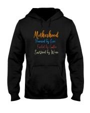 MOTHERHOOD POWERED BY LOVE Hooded Sweatshirt thumbnail