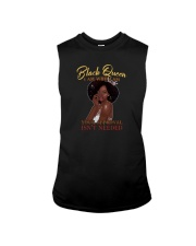 BLACK QUEEN I AM WHO I AM Sleeveless Tee tile