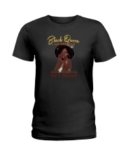 BLACK QUEEN I AM WHO I AM Ladies T-Shirt tile