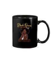 BLACK QUEEN I AM WHO I AM Mug thumbnail