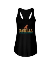 FATHER OF THE MONSTERS Ladies Flowy Tank thumbnail