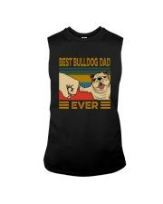 BEST BULLDOG DAD EVER Sleeveless Tee thumbnail