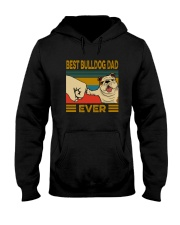 BEST BULLDOG DAD EVER Hooded Sweatshirt thumbnail