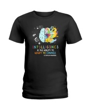 Stephen Hawking Quote Ladies T-Shirt thumbnail
