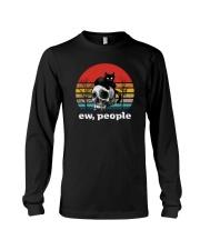 RETRO VINTAGE CAT EW PEOPLE Long Sleeve Tee thumbnail