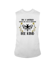 IN A WORLD WHERE YOU CAN BE ANYTHING BEE KIND Sleeveless Tee thumbnail