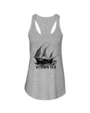 SAILING VINTAMIN SEA Ladies Flowy Tank thumbnail