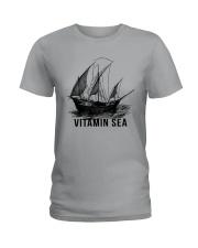 SAILING VINTAMIN SEA Ladies T-Shirt thumbnail