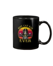 BEST CAT DAD EVER DRIVE MOTORCYCLE Mug thumbnail