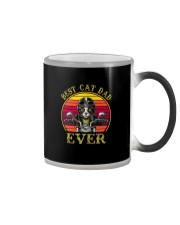 BEST CAT DAD EVER DRIVE MOTORCYCLE Color Changing Mug thumbnail