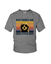 BEST DOODLE DAD EVER Youth T-Shirt tile