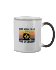 BEST DOODLE DAD EVER Color Changing Mug thumbnail