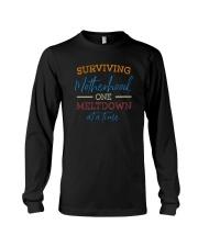 SURVIVING MOTHERHOOD ONE MELTDOWN AT A TIME Long Sleeve Tee thumbnail