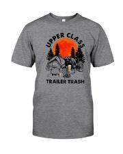UPPER CLASS TRAILER TRASH Classic T-Shirt front