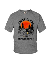 UPPER CLASS TRAILER TRASH Youth T-Shirt thumbnail