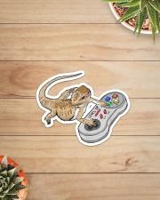 BEARDED DRAGON PLAY VIDEO GAME Sticker - Single (Vertical) aos-sticker-single-vertical-lifestyle-front-07