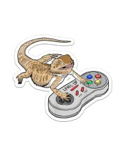 BEARDED DRAGON PLAY VIDEO GAME Sticker - Single (Vertical) front