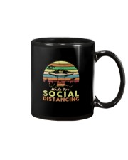 MADE FOR SOCIAL DISTANCING ALIEN UFO VINTAGE Mug thumbnail