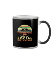 MADE FOR SOCIAL DISTANCING ALIEN UFO VINTAGE Color Changing Mug thumbnail