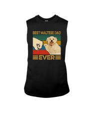 BEST Maltese DAD EVER Sleeveless Tee thumbnail