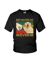 BEST Maltese DAD EVER Youth T-Shirt thumbnail