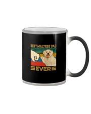 BEST Maltese DAD EVER Color Changing Mug thumbnail