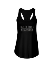 DAD OF DAUGHTERS Ladies Flowy Tank thumbnail