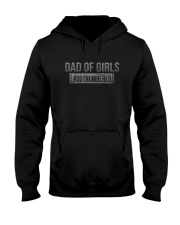 DAD OF DAUGHTERS Hooded Sweatshirt thumbnail