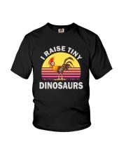 I RAISE TINY DINOSAUR CHICKEN VINTAGE T SHIRT Youth T-Shirt thumbnail