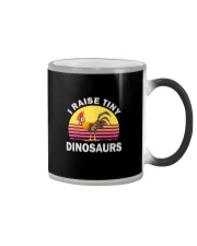 I RAISE TINY DINOSAUR CHICKEN VINTAGE T SHIRT Color Changing Mug thumbnail