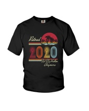 RETIRED 2020 NOT MY PROBLEM ANYMORE Youth T-Shirt thumbnail