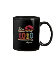RETIRED 2020 NOT MY PROBLEM ANYMORE Mug thumbnail