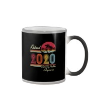 RETIRED 2020 NOT MY PROBLEM ANYMORE Color Changing Mug thumbnail