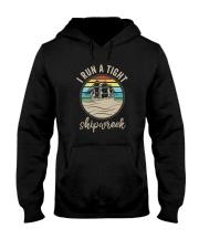 I RUN A TIGHT SHIPWRECK VINTAGE Hooded Sweatshirt thumbnail