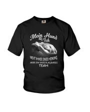 MEIN HUND UND ICH EIN UNSCHLAGBARES TEAM Youth T-Shirt thumbnail