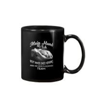 MEIN HUND UND ICH EIN UNSCHLAGBARES TEAM Mug thumbnail