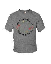 AND INTO THE GARDEN I GO Youth T-Shirt thumbnail