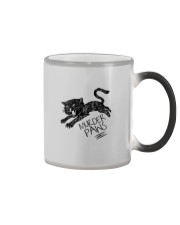 MURDER PAWS Color Changing Mug tile