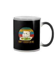 DON'T COUGH ON ME MEME CAT Color Changing Mug thumbnail