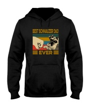 BEST SCHNAUZER DAD EVER s Hooded Sweatshirt thumbnail