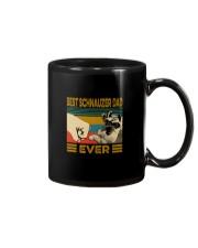 BEST SCHNAUZER DAD EVER s Mug thumbnail